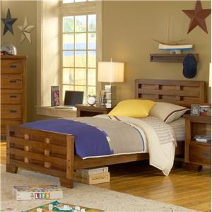 Twin Bed Headboard & Footboard Bed