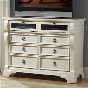 American Woodcrafters Heirloom Entertainment Chest