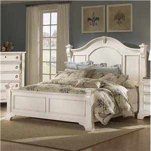 American Woodcrafters Heirloom Queen Poster Bed