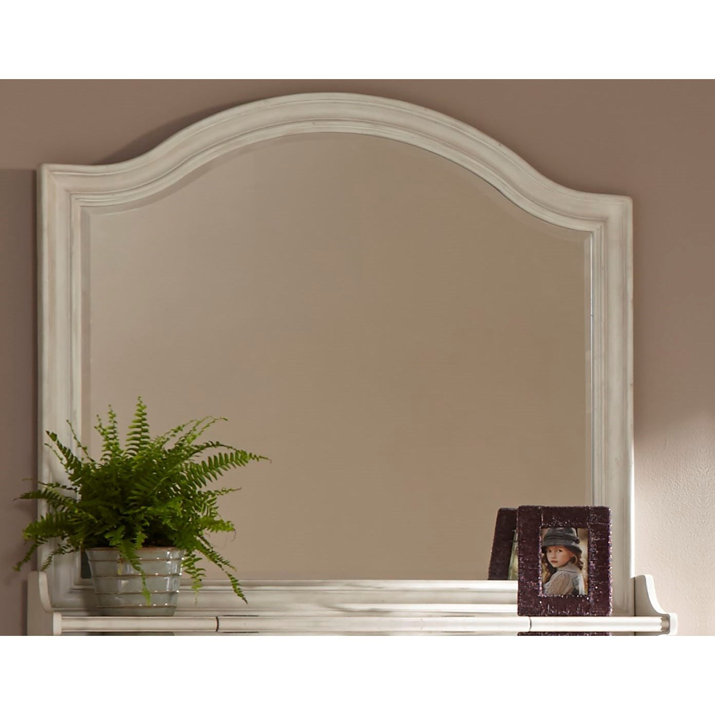 Newport Dresser Mirror by American Woodcrafters at Carolina Direct