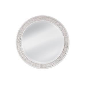 Round Woven Mirror