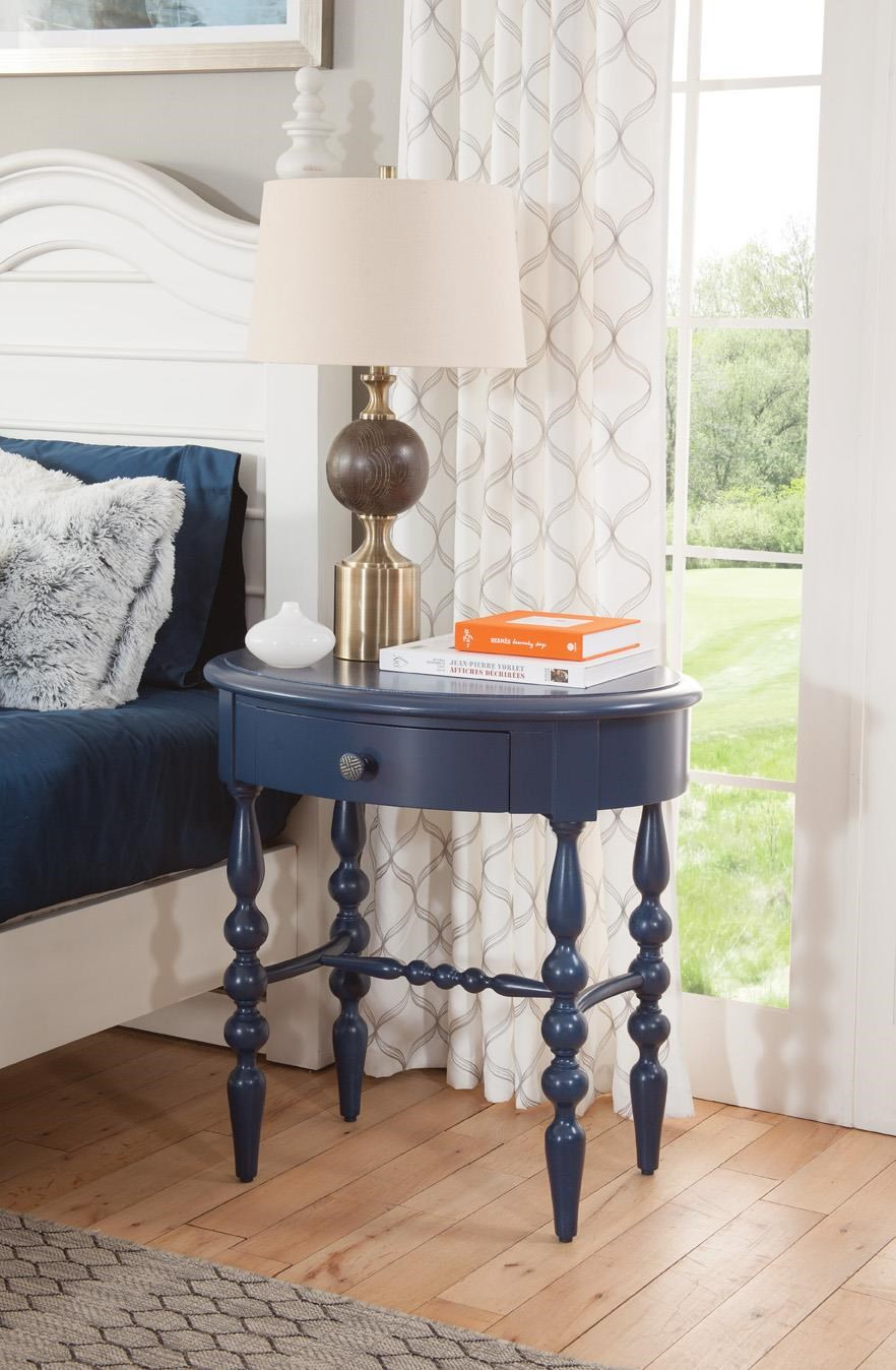 Rodanthe Accent Table by American Woodcrafters at Johnny Janosik