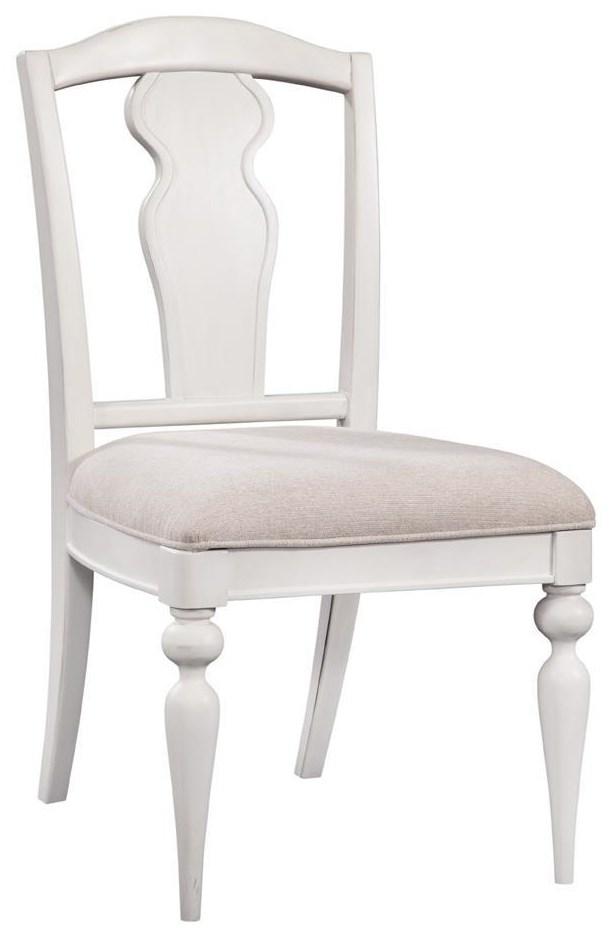 Rodanthe Slatback Side Chair by American Woodcrafters at Johnny Janosik