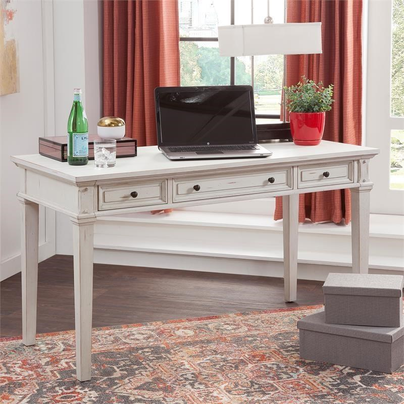 Sedona 50 Inch Writing Desk by American Woodcrafters at Johnny Janosik