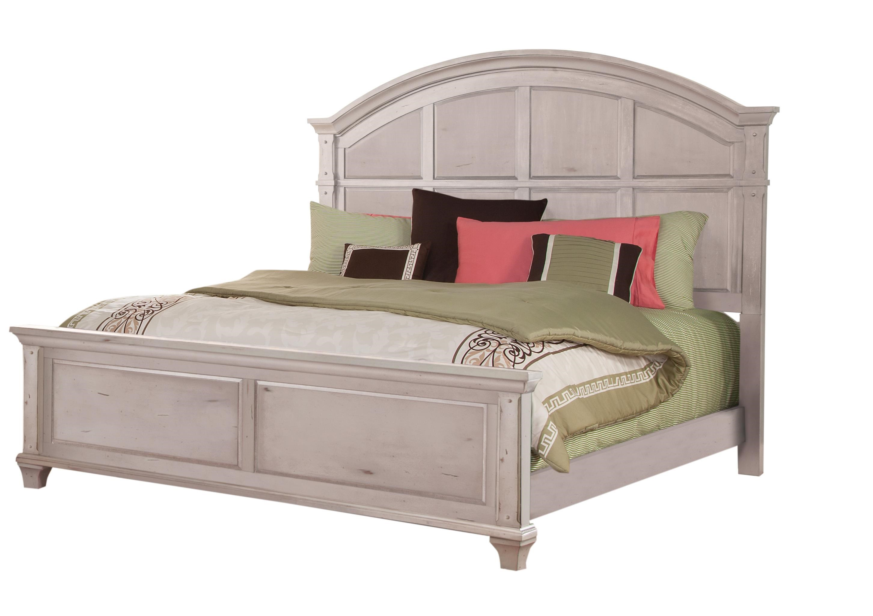 Sedona Queen Panel Bed by American Woodcrafters at Johnny Janosik