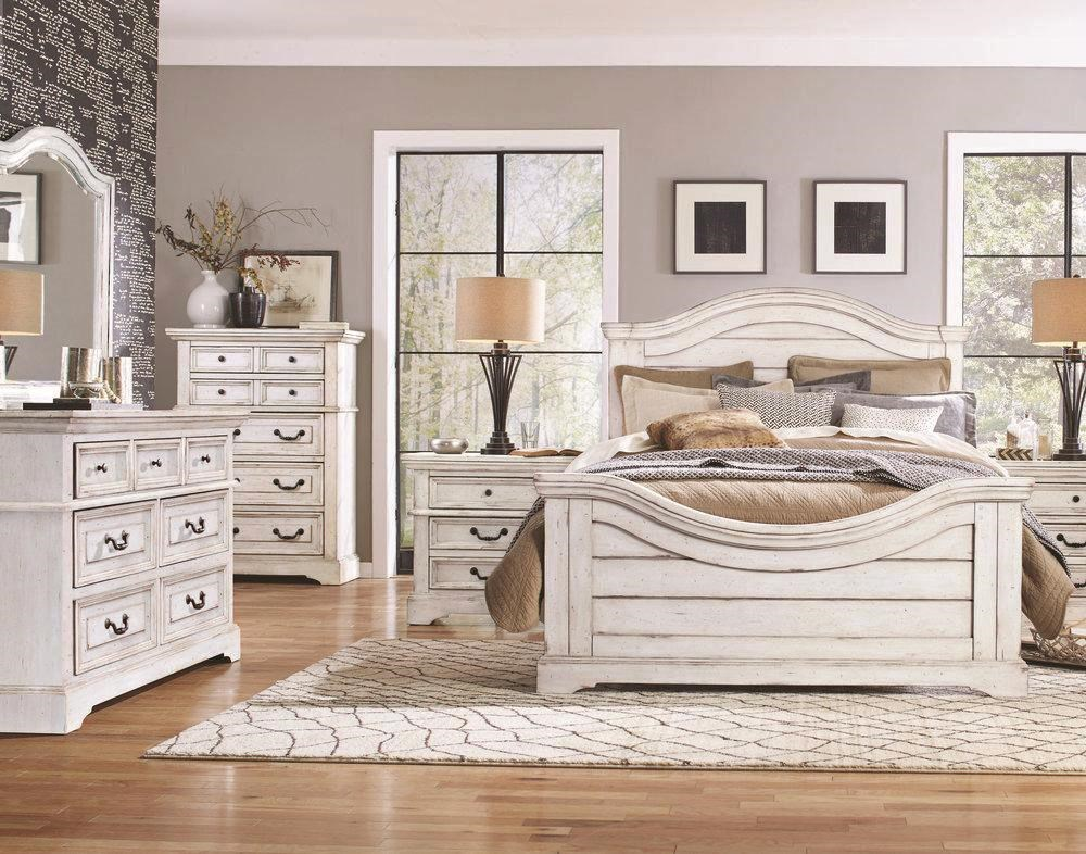 Stonebrook King Bedroom Group by American Woodcrafters at Johnny Janosik