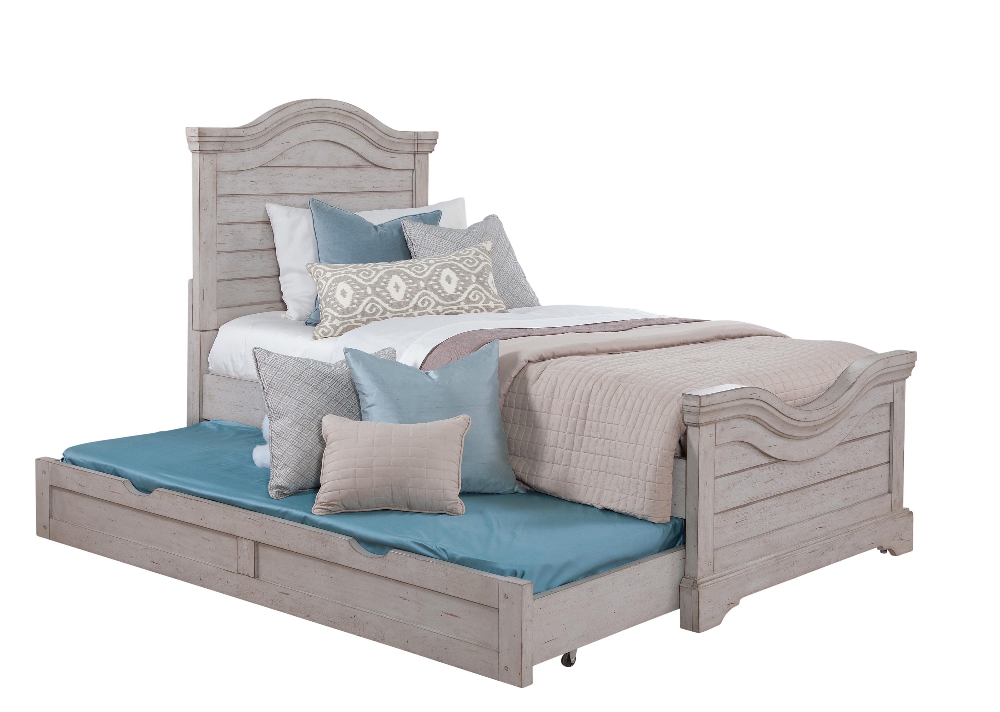 Stonebrook Youth in Antique Gray Trundle Storage Unit by American Woodcrafters at Johnny Janosik