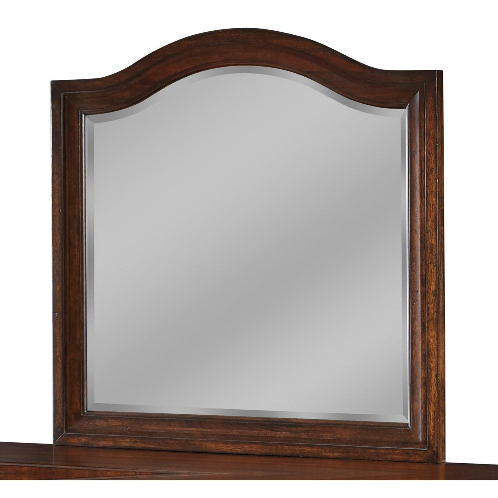 Stonebrook Landscape Mirror by American Woodcrafters at Johnny Janosik