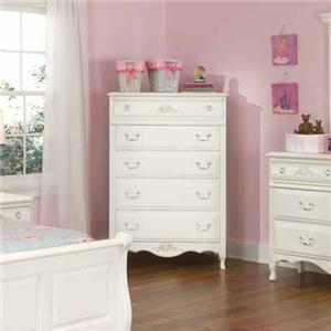 American Woodcrafters Summerset Chest of Drawers