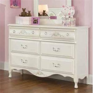 American Woodcrafters Summerset Double Dresser