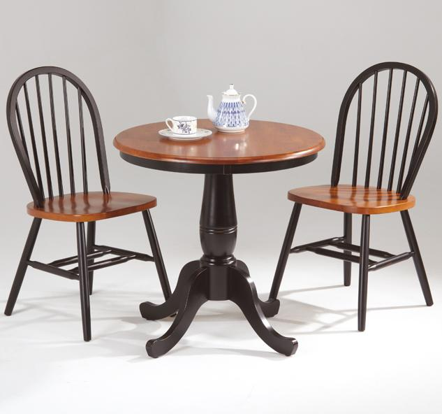 Farmhouse and Traditional Windsor Table and Chair Set by Amesbury Chair at Dinette Depot