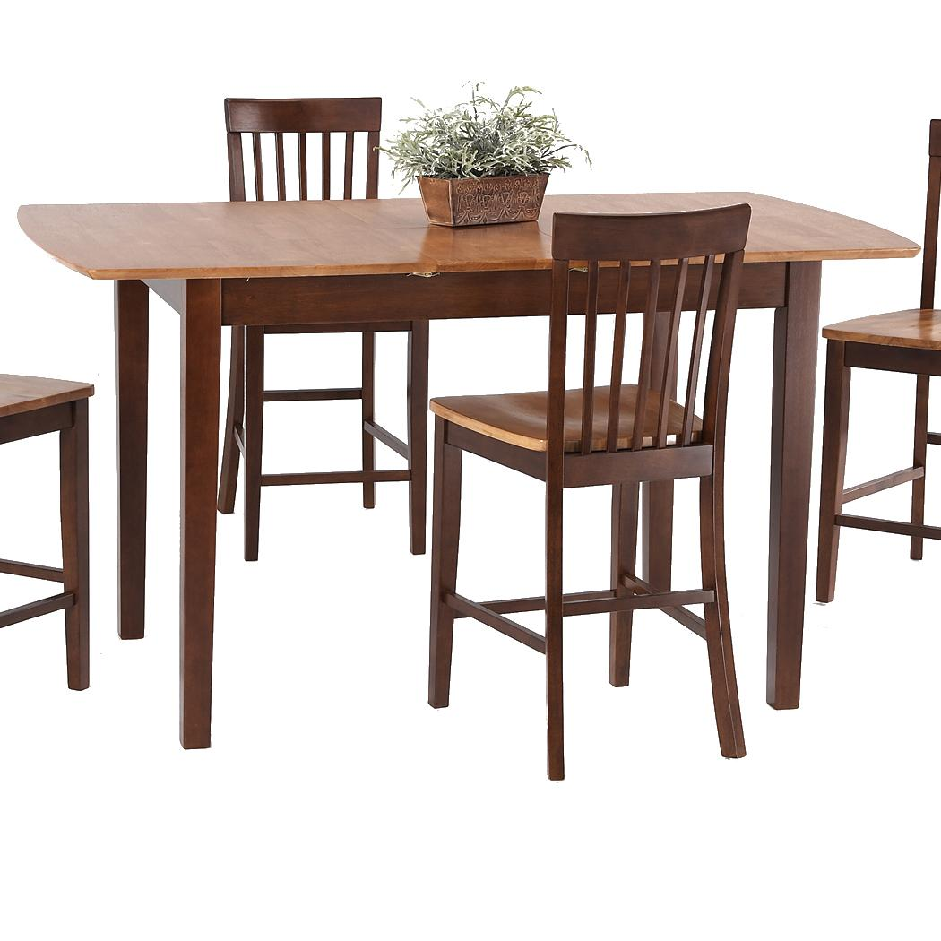 Pub Sets Butterfly Leaf Pub Table by Amesbury Chair at Dinette Depot