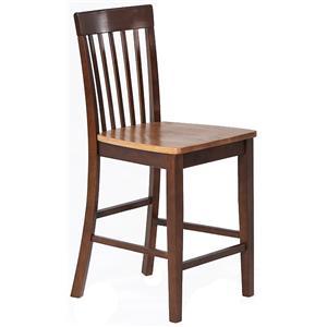 Amesbury Chair Pub Sets Slatback Pub Stool
