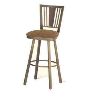 "Amisco Transitions 30"" Madison Swivel Bar Stool"