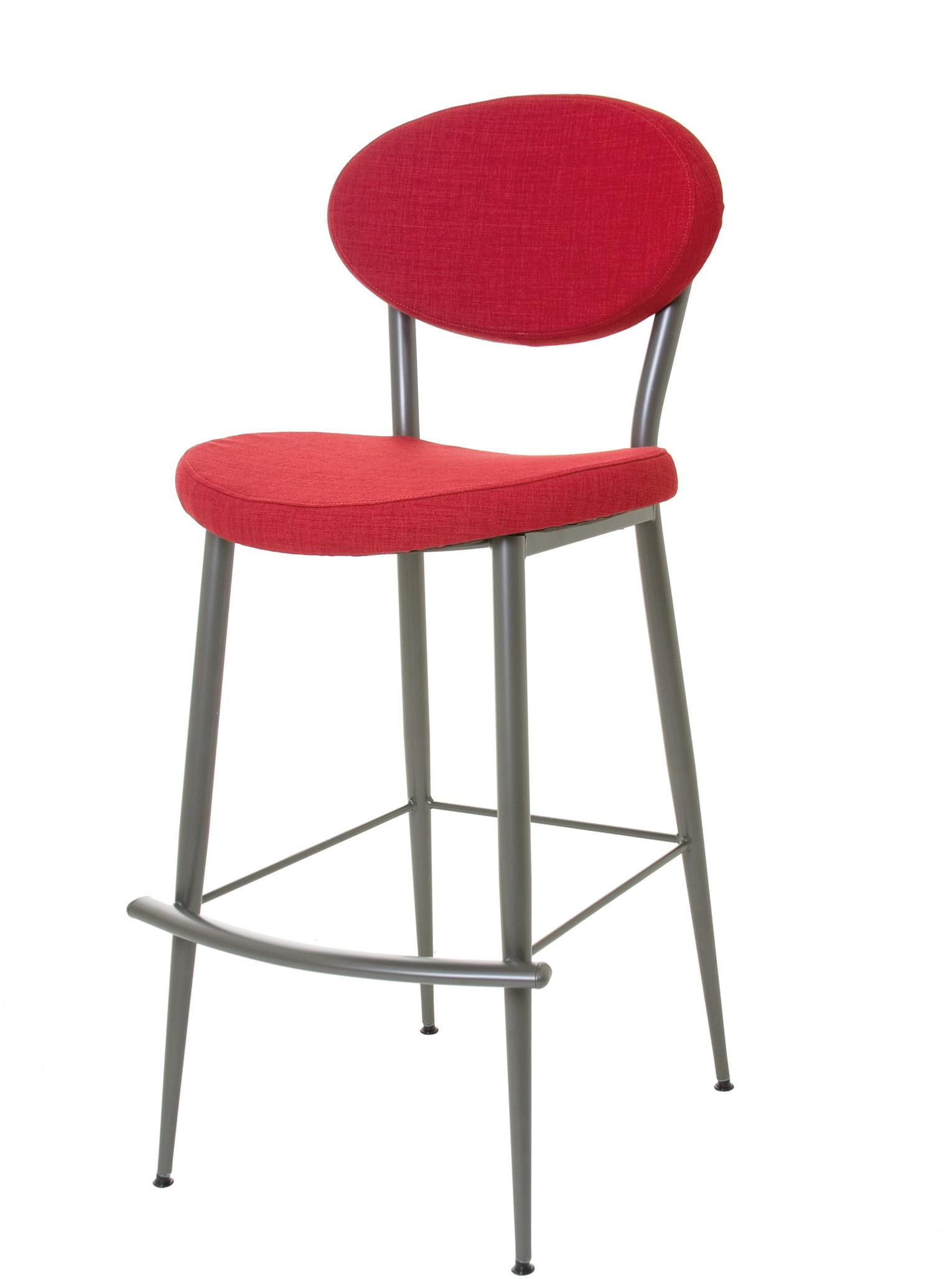 "Boudoir 30"" Bar Height Opus Stool by Amisco at Jordan's Home Furnishings"
