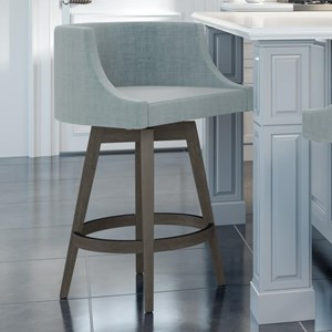"Customizable 26"" Wayne Swivel Counter Stool"