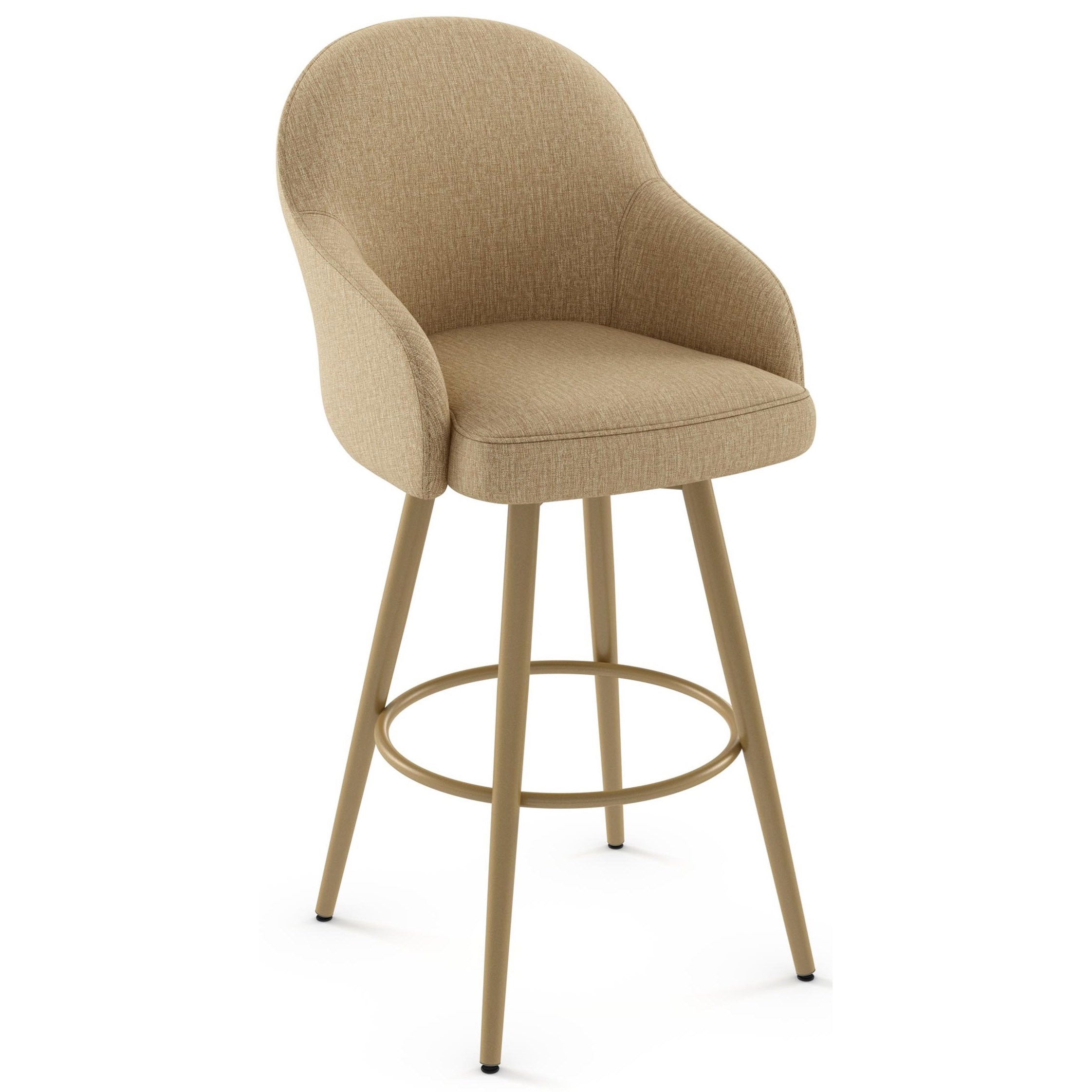 """Boudoir 30"""" Weston Swivel Stool by Amisco at SuperStore"""