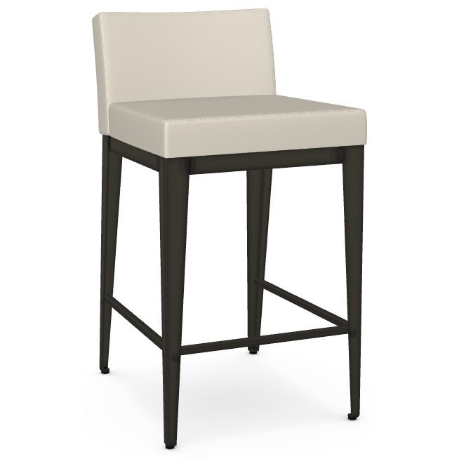Boudoir Counter Height Ethan Stool by Amisco at Dinette Depot