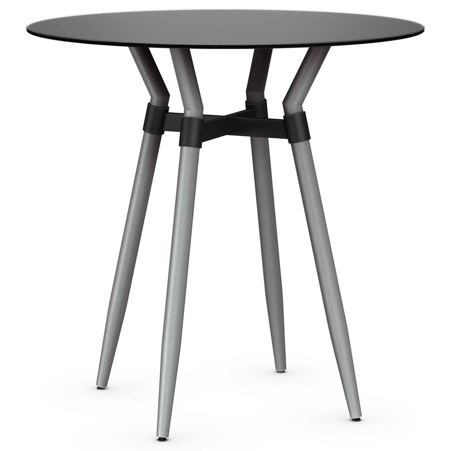 Boudoir Customizable Link Pub Table by Amisco at Jordan's Home Furnishings