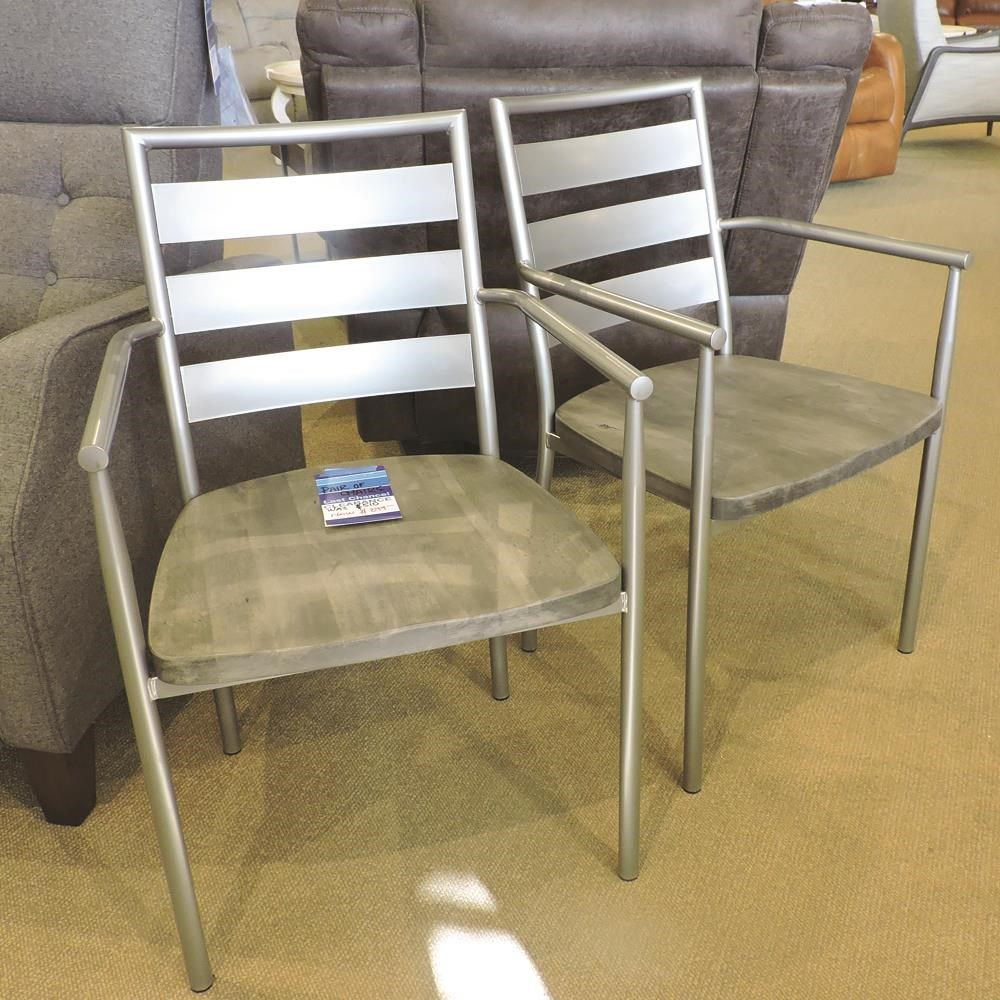 Pair of Arm Chairs by Amisco at Belfort Furniture