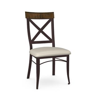 Customizable Kyle Chair in Rustic Country Style