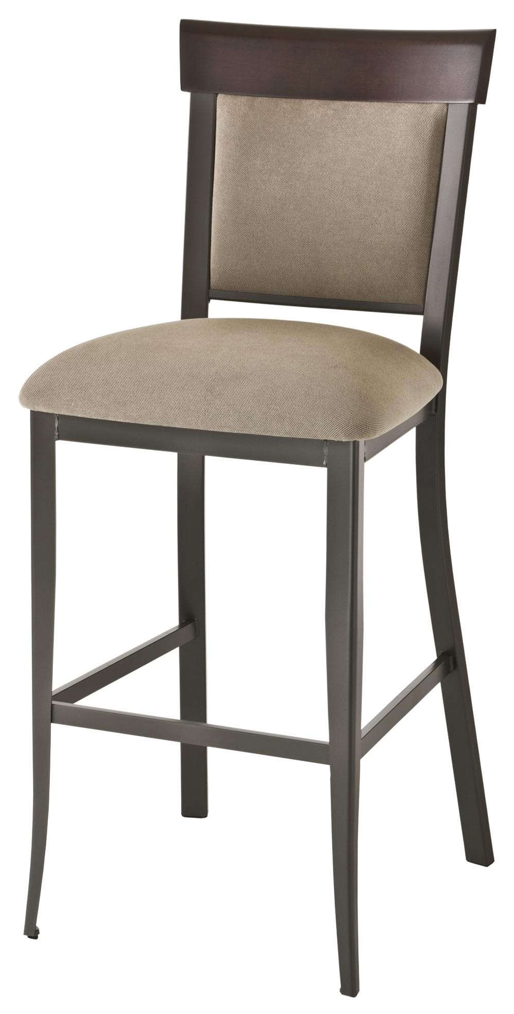 """Countryside Eleanor 30"""" Bar Stool by Amisco at Jordan's Home Furnishings"""