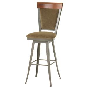 "Amisco Countryside 26"" Eleanor Swivel Stool"