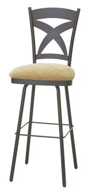 """Countryside 26"""" Marcus Swivel Counter Stool by Amisco at Dinette Depot"""