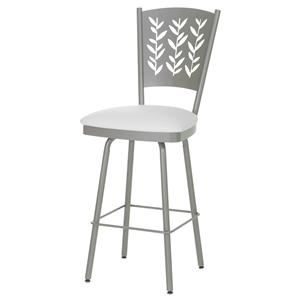 "Amisco Countryside 26"" Mimosa Swivel Counter Stool"