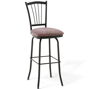 "Amisco Countryside 26"" Naomi Counter Height Swivel Stool"