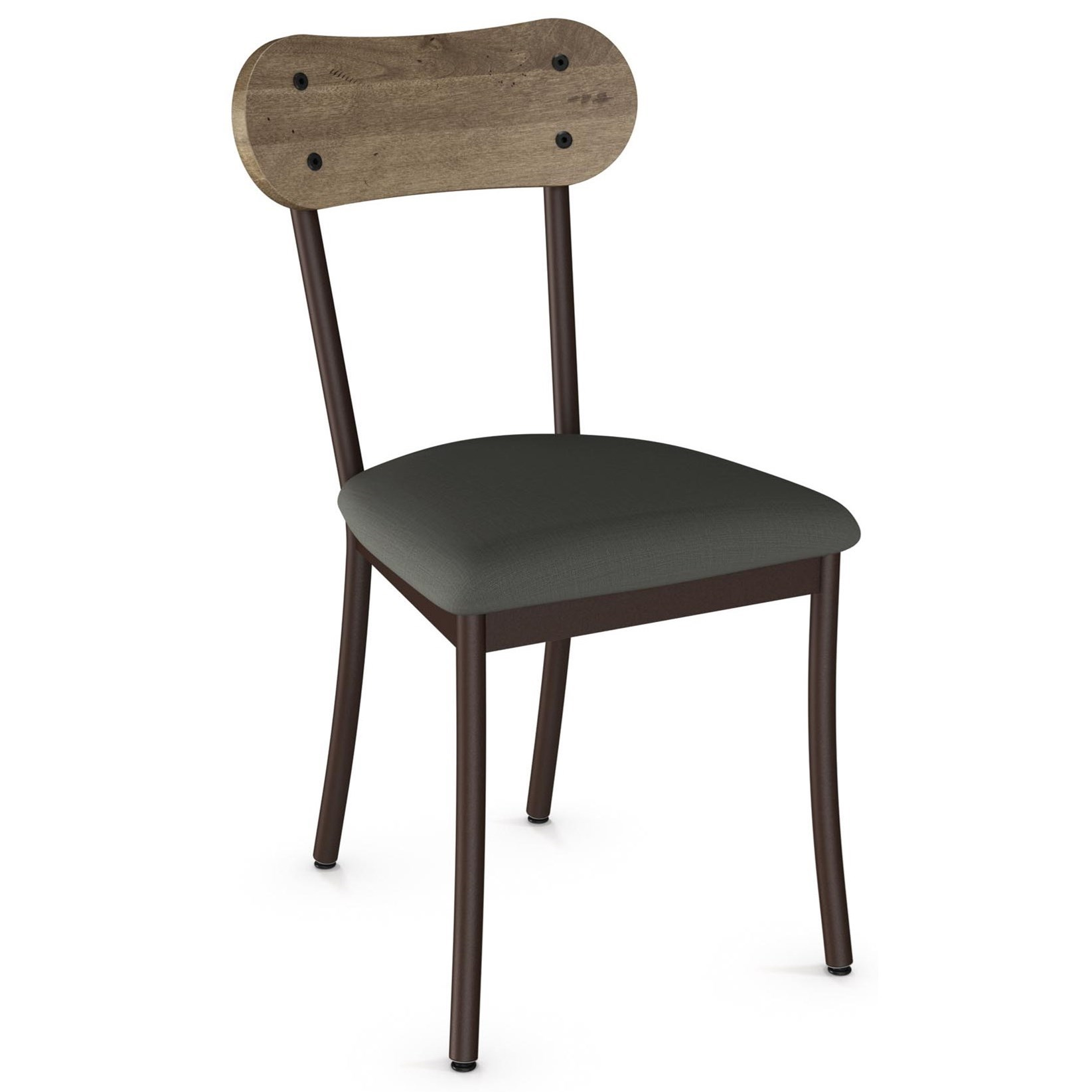 Industrial Bean Chair with Cushion Seat by Amisco at Dinette Depot