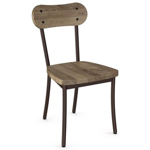Bean Chair with Wood Seat