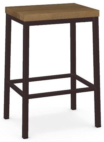 Industrial Customizable Bradley Counter Stool by Amisco at Crowley Furniture & Mattress