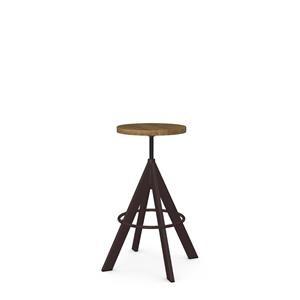 Uplift Adjustable Height Stool with Steel Frame