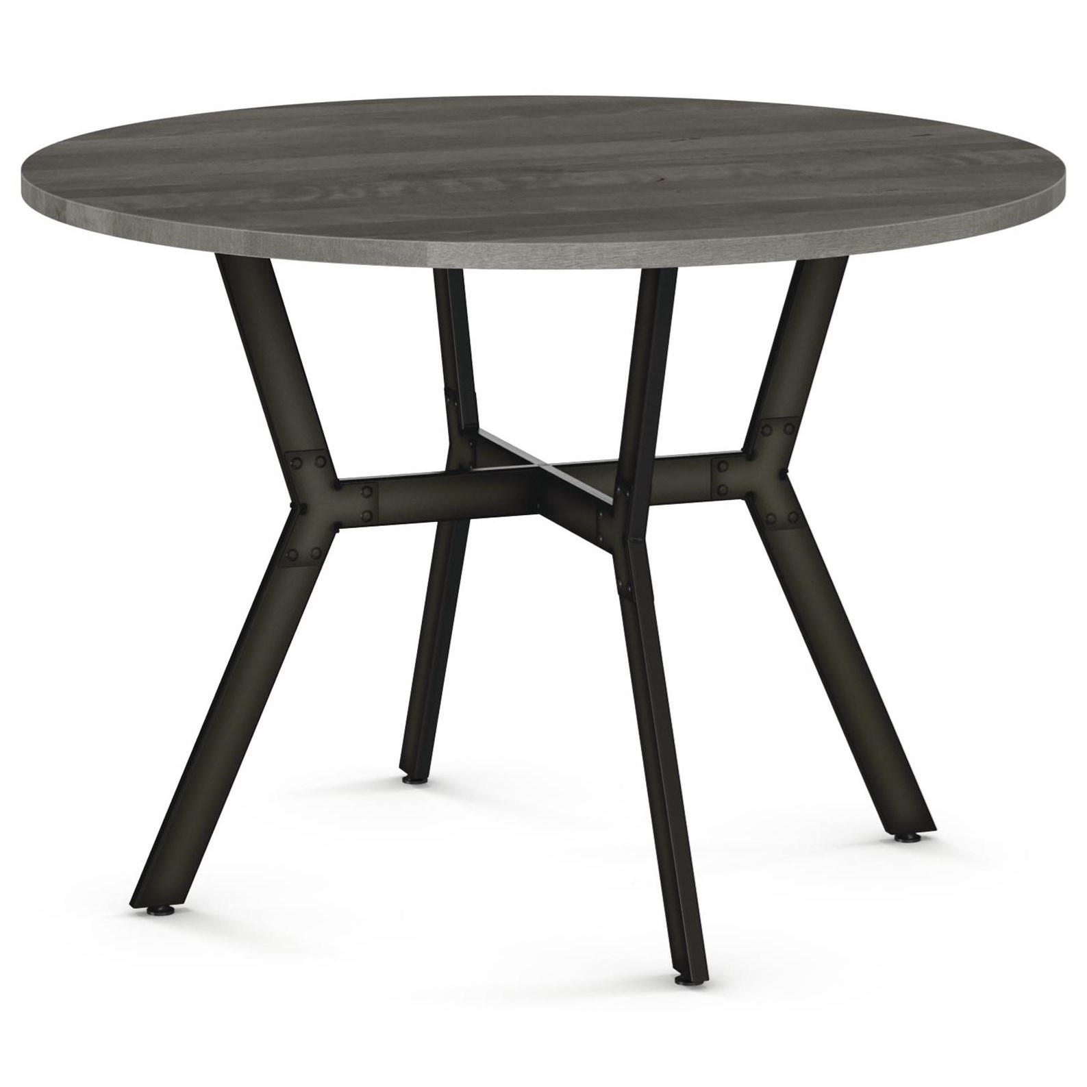 Industrial Norcross Table by Amisco at Jordan's Home Furnishings