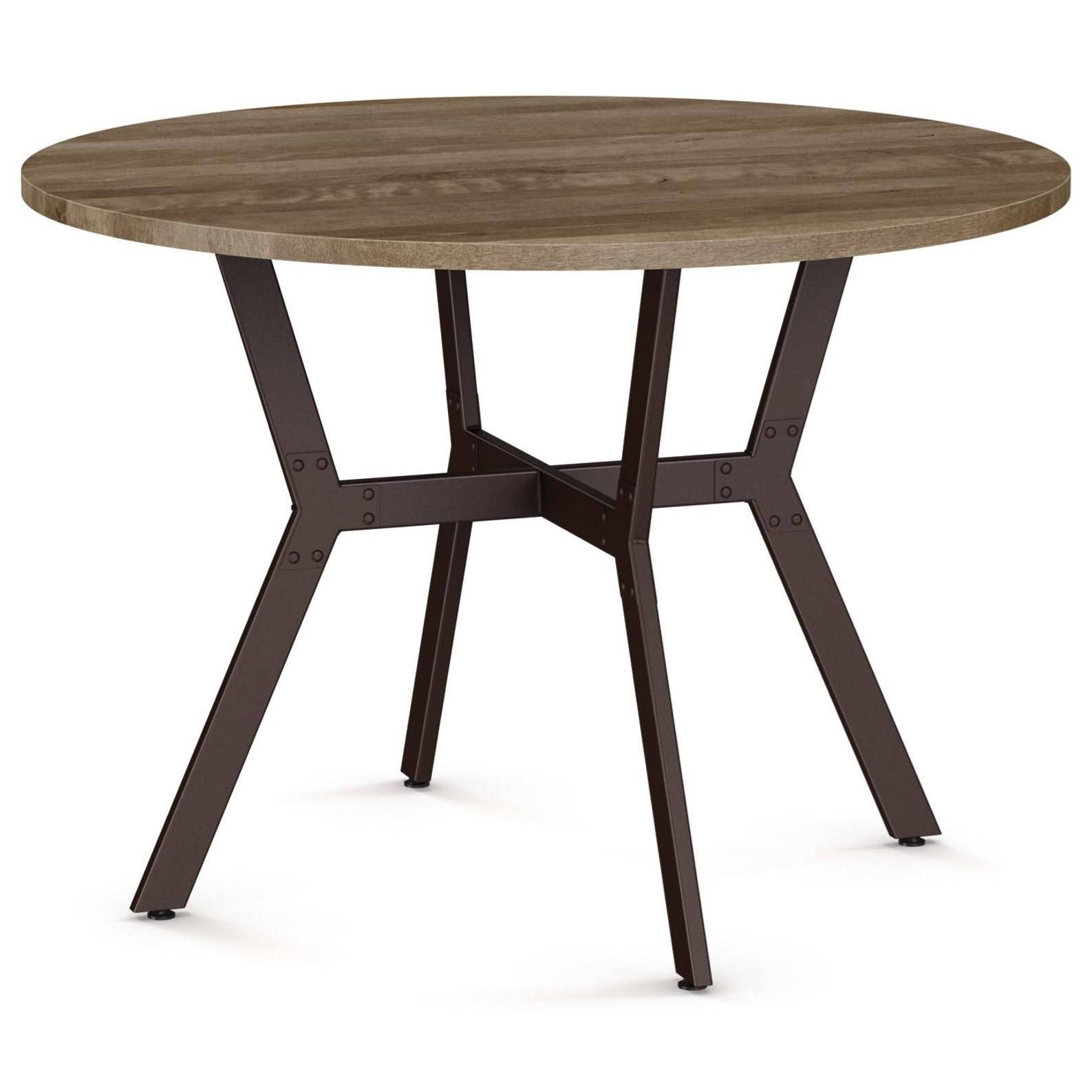 Industrial Norcross Table by Amisco at Rooms and Rest