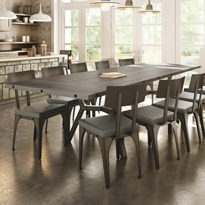 Southcross Dining Table w/ 2 Leaves