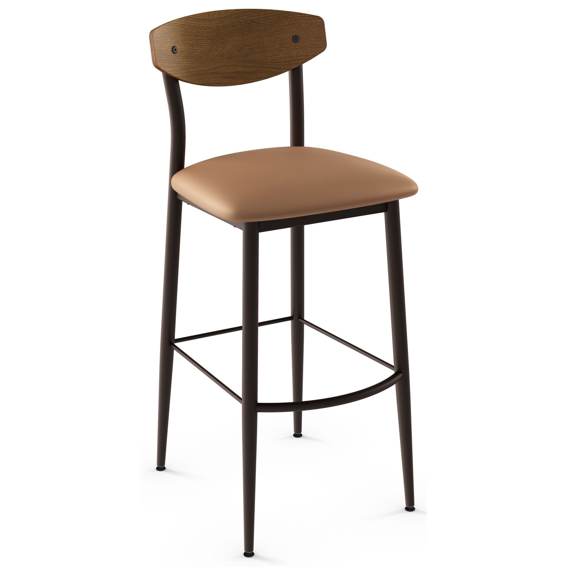 "Nordic 30"" Hint Bar Stool by Amisco at Saugerties Furniture Mart"