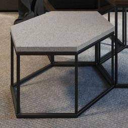 Nordic Customizable Zuma Coffee Table by Amisco at Rooms and Rest