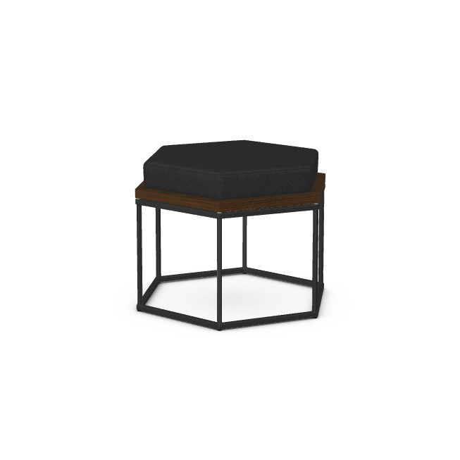 Nordic Customizable Zuma Coffee Table with Ottoman by Amisco at Rooms and Rest