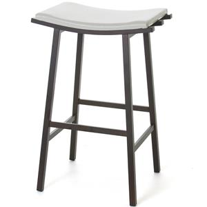 "Nathan 26"" Counter Stool with H Strecher"