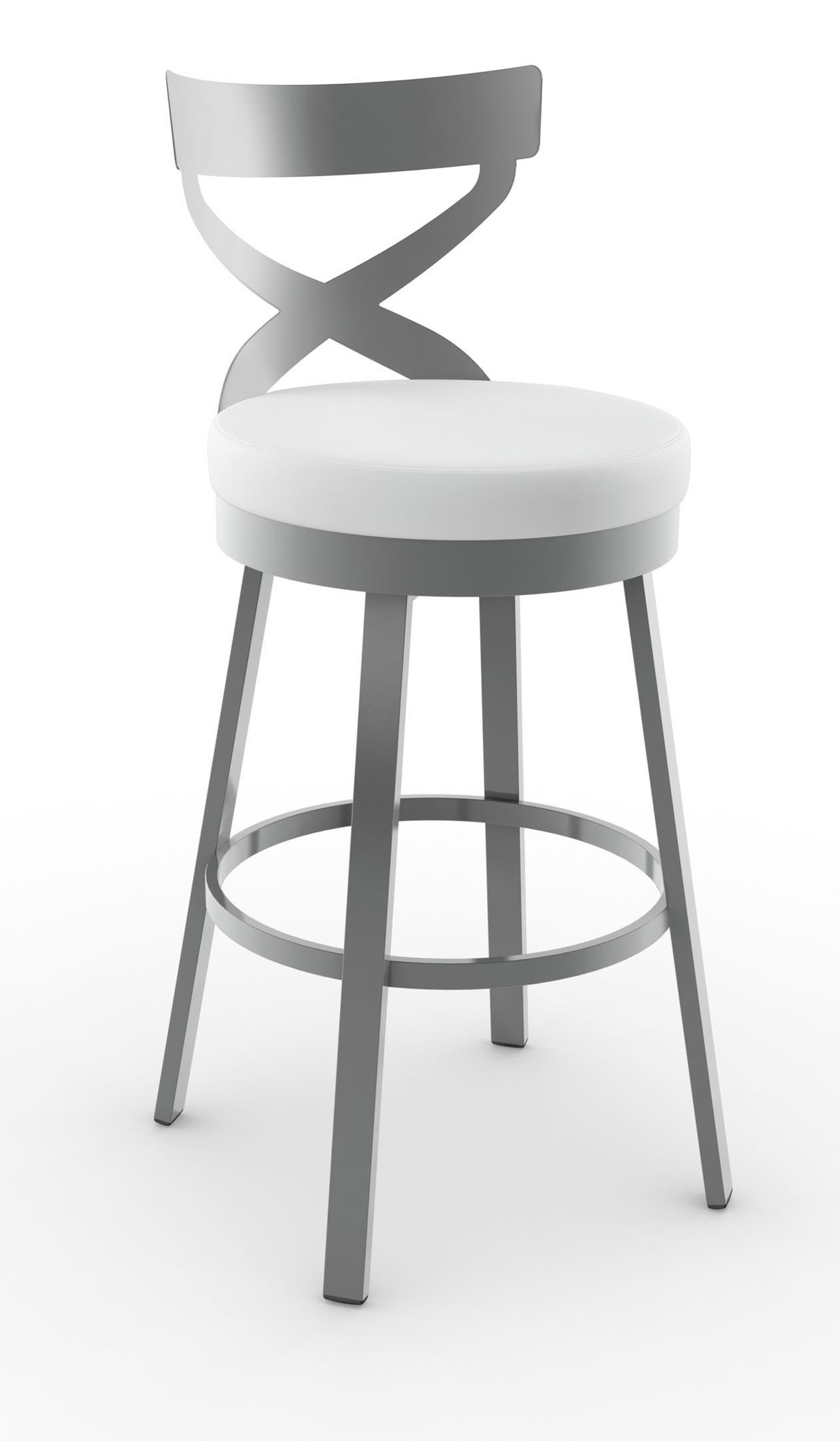 Urban Lincoln Swivel Stool by Amisco at Dinette Depot