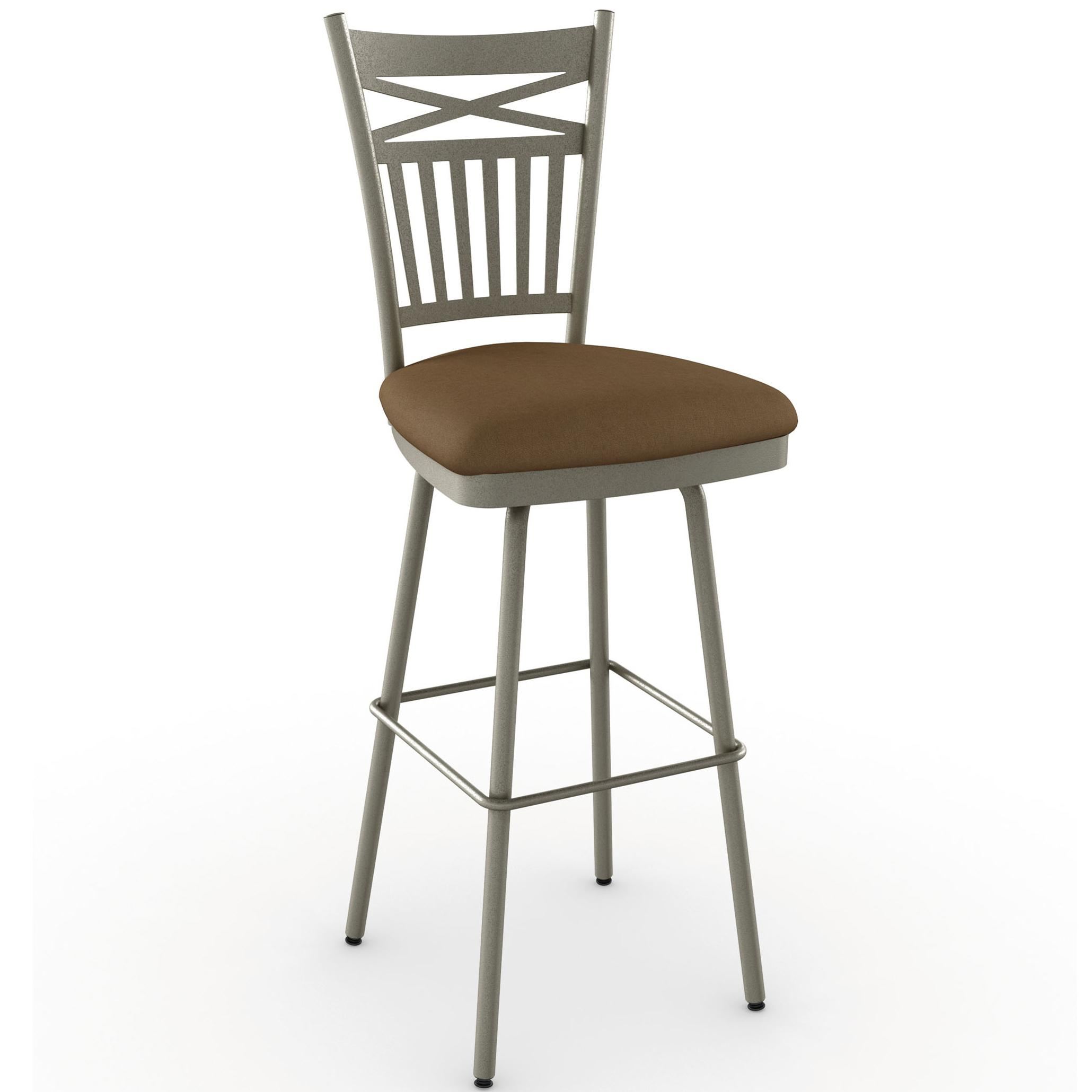 "Countryside 30"" Garden Swivel Bar Stool by Amisco at Dinette Depot"