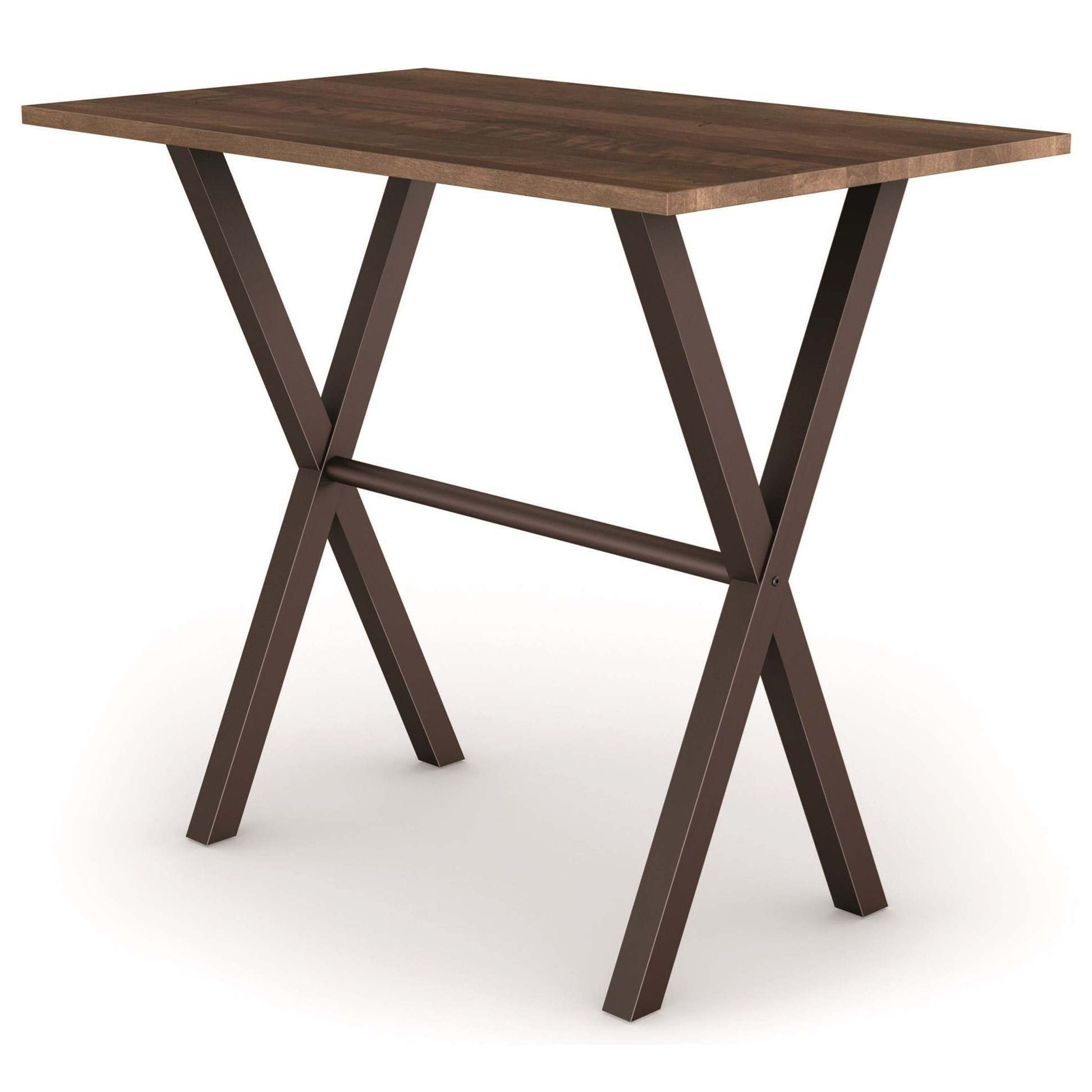 Urban Alex Counter Height Table by Amisco at Jordan's Home Furnishings