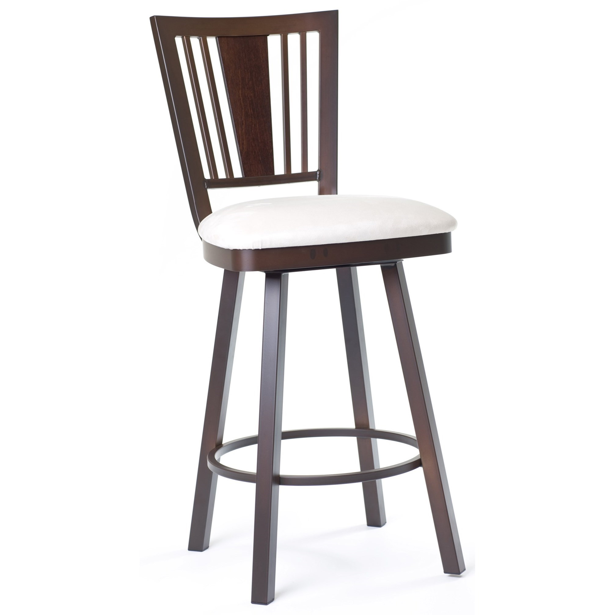 """Countryside 30"""" Madison Swivel Bar Stool by Amisco at Dinette Depot"""
