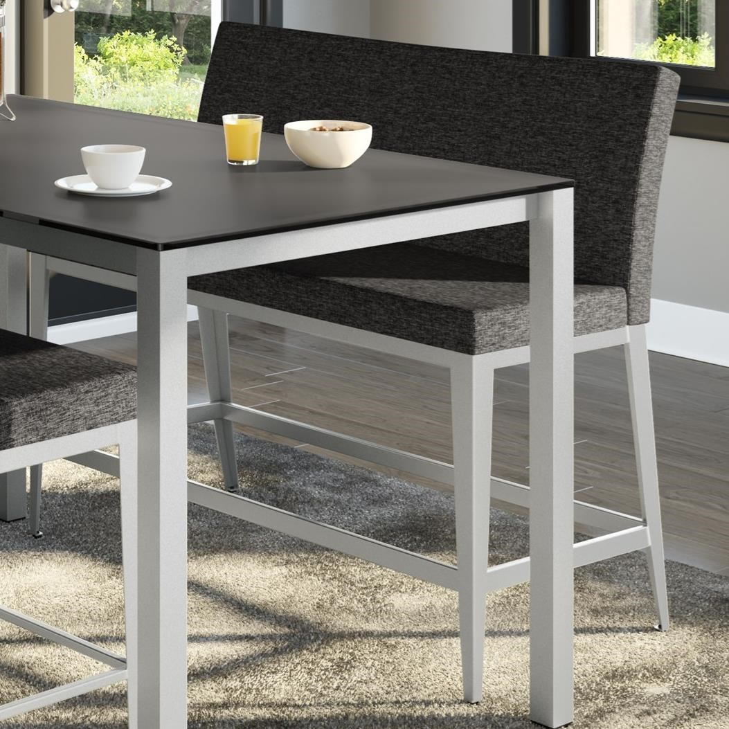 Urban Counter Height Pablo Bench by Amisco at Rooms and Rest