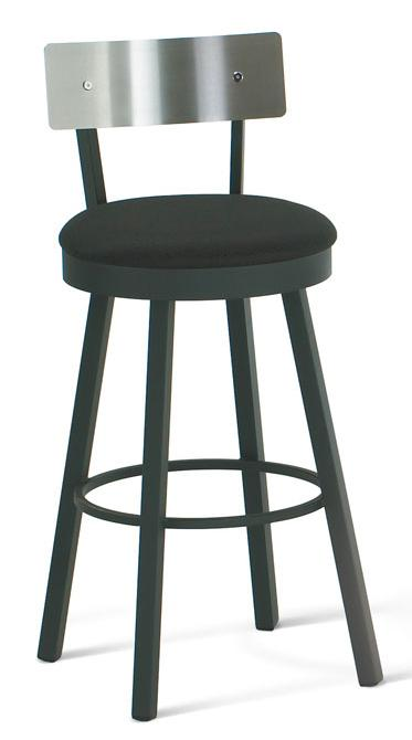 """Urban 34"""" Spectator Height Lauren Swivel Stool by Amisco at Rooms and Rest"""