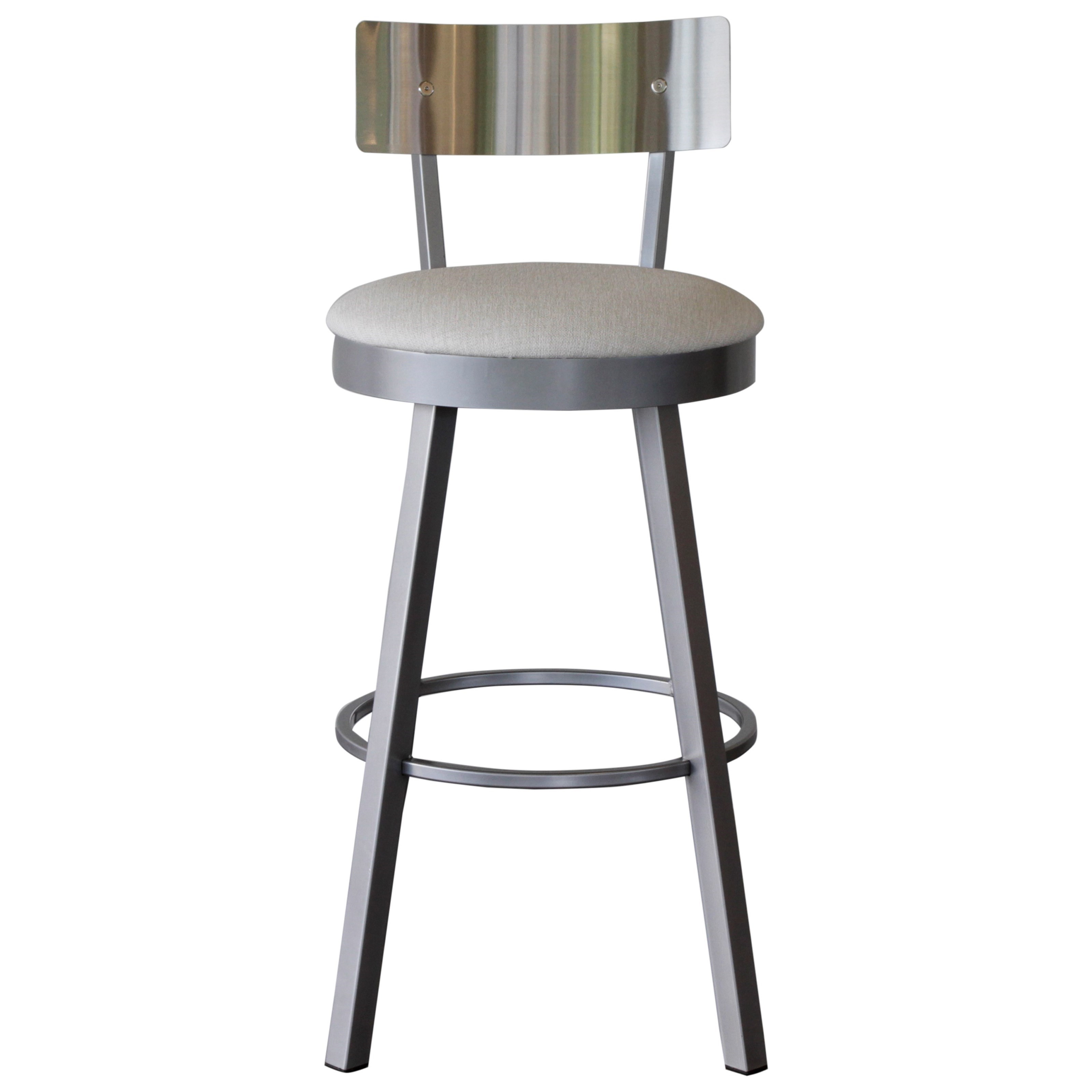 Urban Swivel Stool by Amisco at HomeWorld Furniture