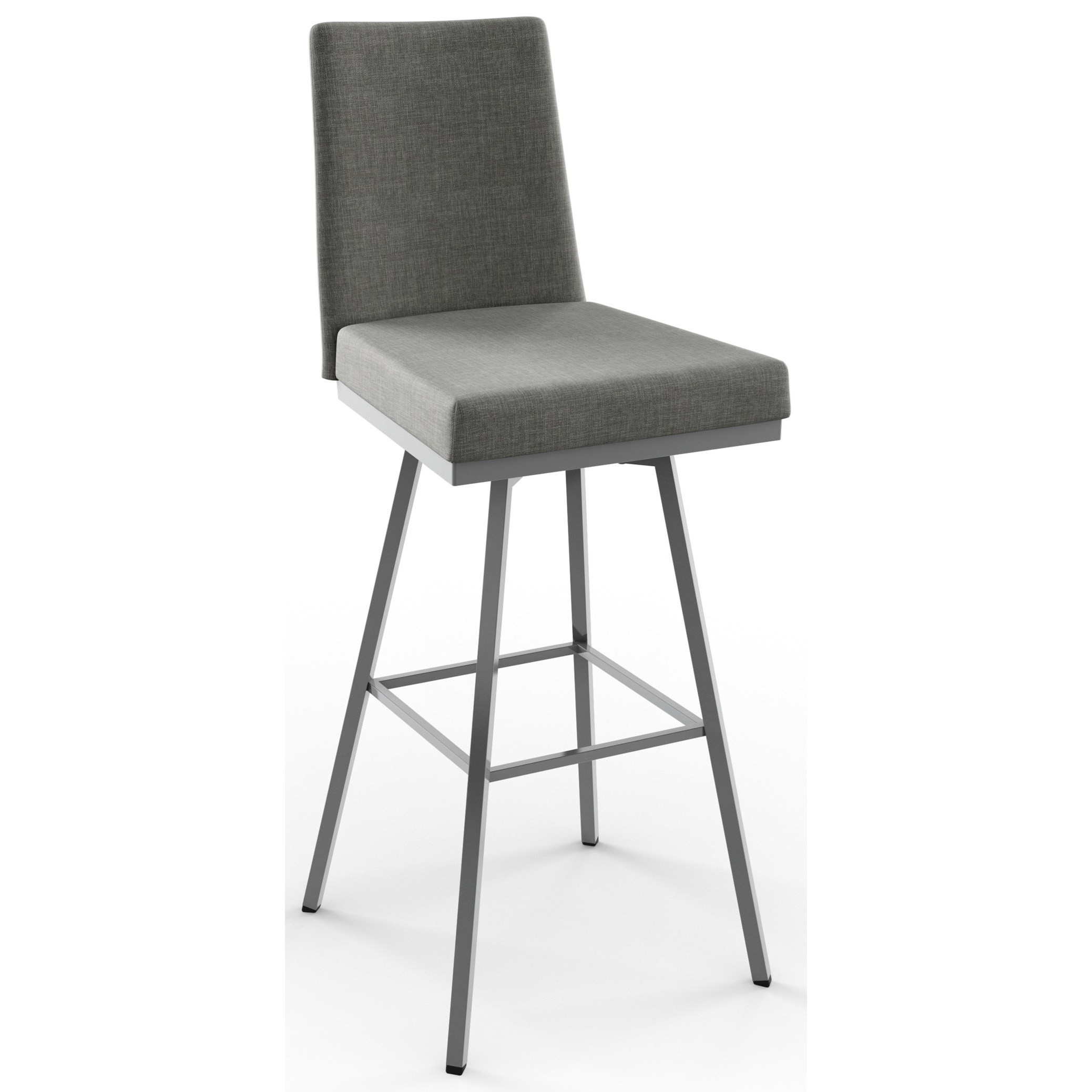 "Urban 30"" Linea Swivel Stool by Amisco at Saugerties Furniture Mart"