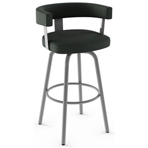 "Customizable 30"" Bar Height Garrett Swivel Stool"